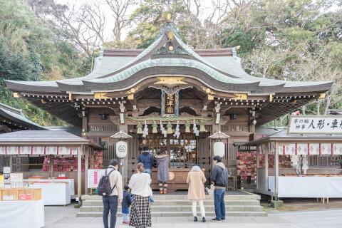 江島神社-外観