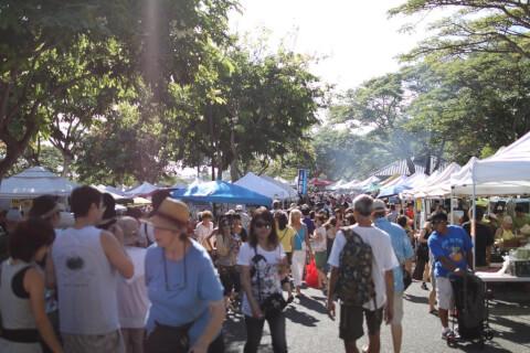 fermers ハワイ ホノルル サタデーファーマーズマーケット