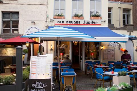 fishmarket ベルギー ブルージュ 魚市場