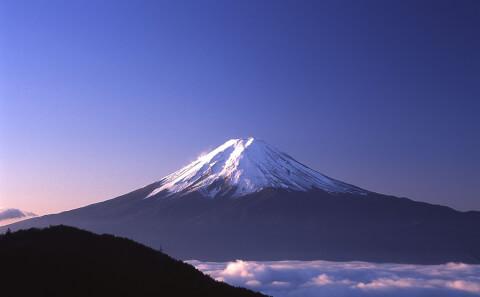 御坂峠富士山