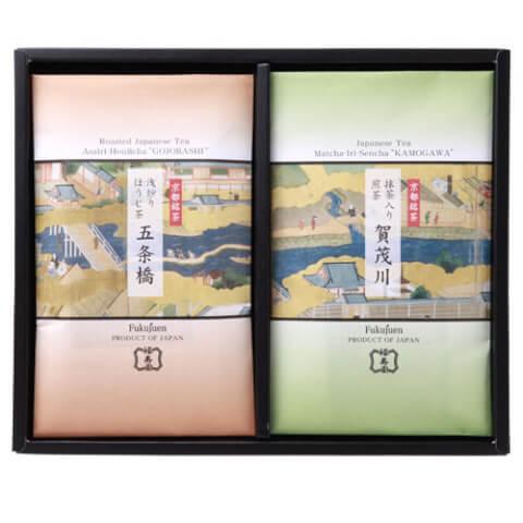 福寿園 京都銘茶2種詰め合わせ