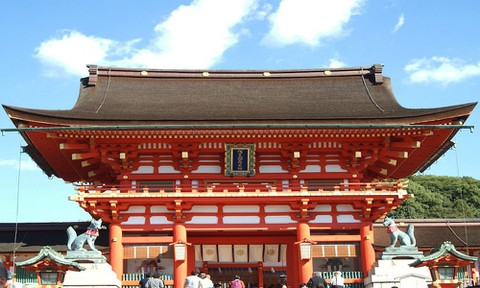 日本 絶景 京都 伏見稲荷