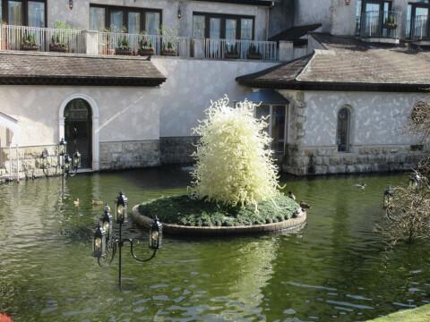 パラッツォ・ドゥカーレ・シャンデリア 箱根ガラスの森美術館