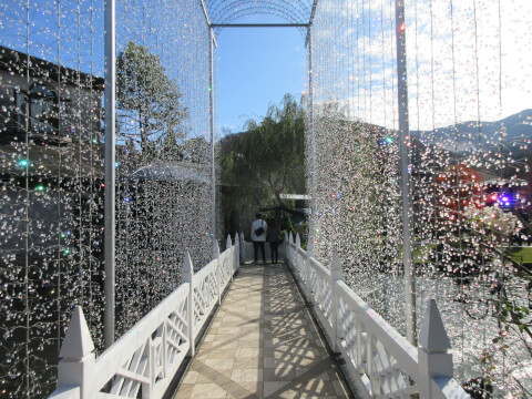 光の回廊 箱根ガラスの森美術館