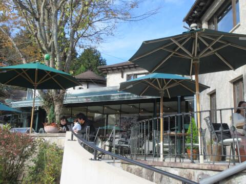 カフェ レストラン 箱根ガラスの森美術館