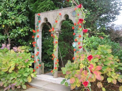 箱根ガラスの森美術館 ローズガーデン
