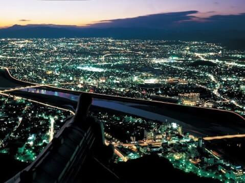 岐阜市の夜景