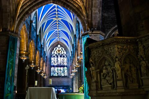 スコットランド 観光 聖ジャイルズ大聖堂 エディンバラ 旧市街