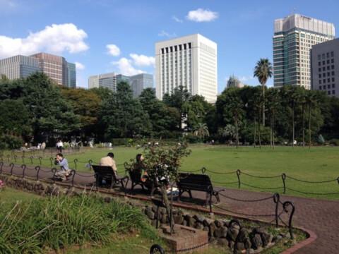 日比谷公園 広場