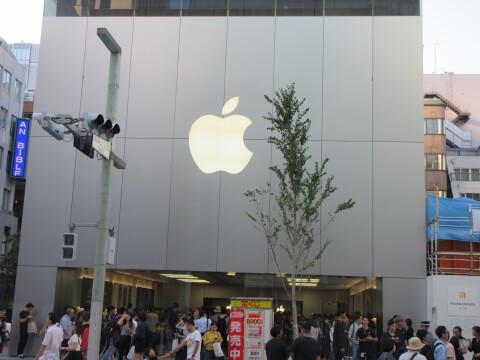 apple 銀座