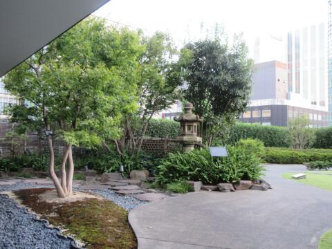 歌舞伎座タワー 庭園