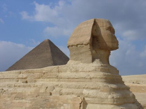 エジプト ギザ スフィンクス