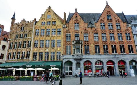 grotemark ベルギー ブルージュ マルクト広場