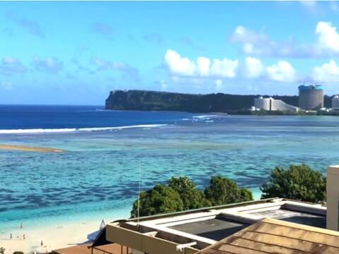 グアム タモン ビーチ 観光