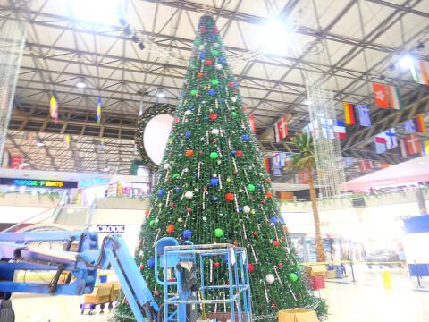 グアム マイクロネシアモール クリスマス 広場