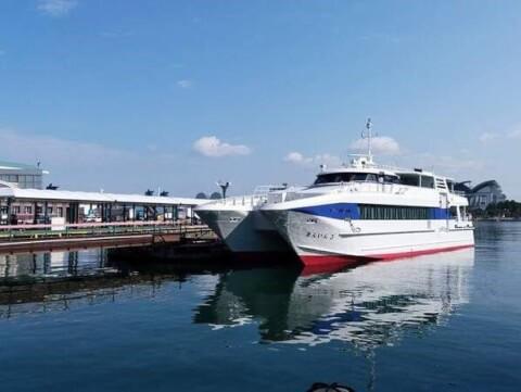博多港 フェリー 高速船
