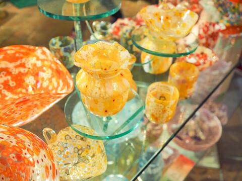 箱根ガラスの森 美術館 ガラス細工
