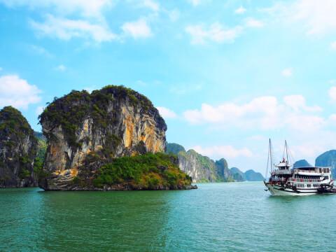 ベトナム ハロン湾 クルージング