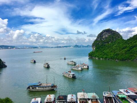 ハロン湾 ベトナム 絶景