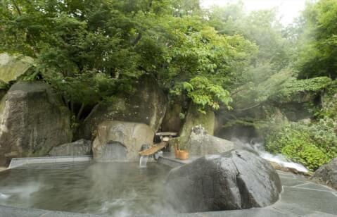 湯浴みの島