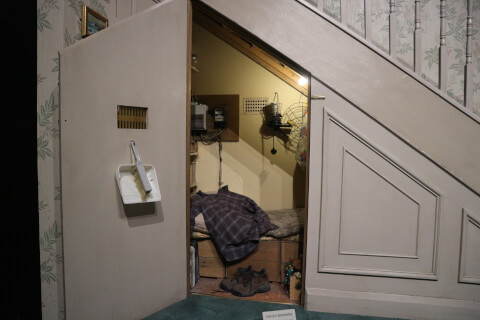 ハリーポッタースタジオ-ハリーの部屋