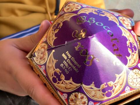 蛙チョコレート-パッケージ