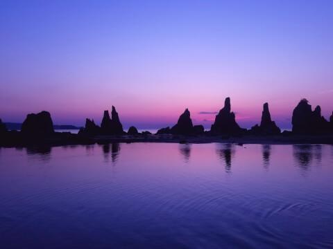 日本 絶景 和歌山 橋杭岩