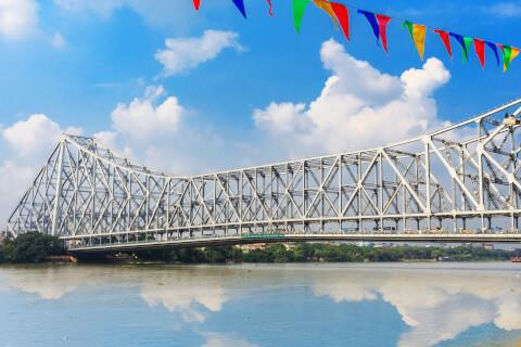 ハウラー橋 コルカタ インド