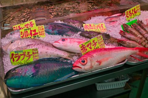 沖縄 市場 魚