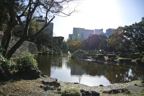 日比谷公園 日本庭園