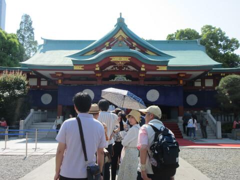 拝殿 日枝神社