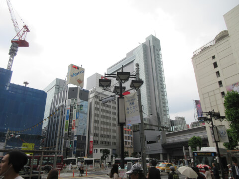 渋谷 町並み