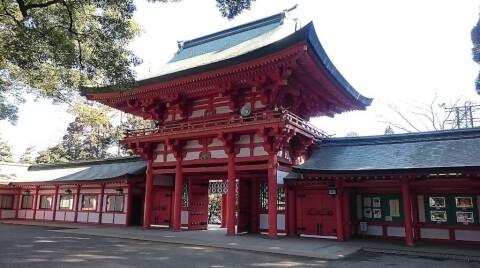 氷川神社 赤門