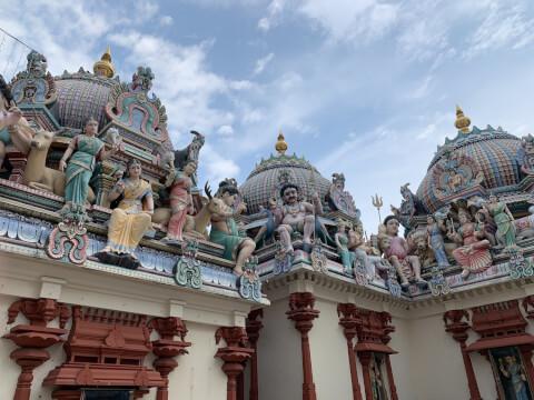 チャイナタウン_ヒンドゥー寺院
