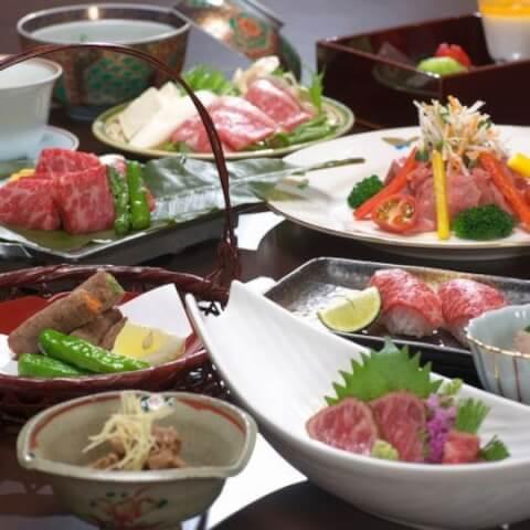 平野屋別館お料理