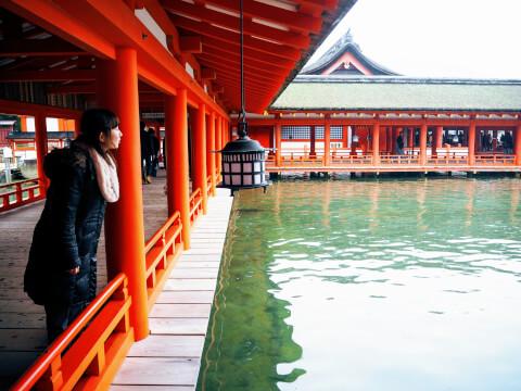 厳島神社 廻廊 宮島