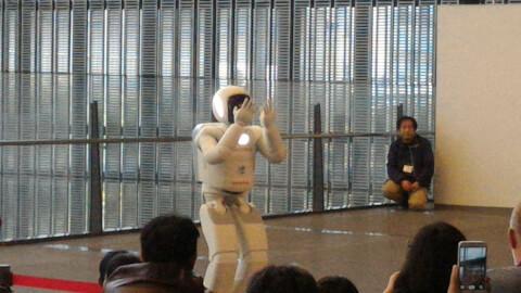 博物館 日本科学未来館 ASHIMO