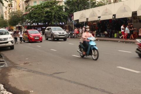 ホーチミンのアクセスと市内交通
