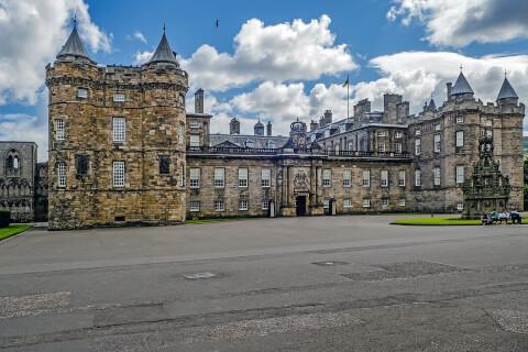 スコットランド 観光 エディンバラ ホリルードハウス宮殿