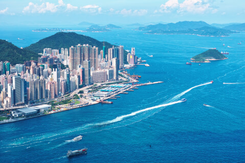 香港島エリア