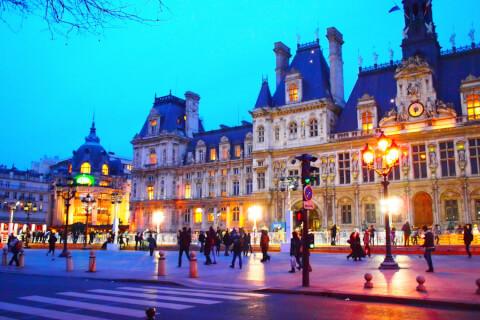 パリ 観光 パリ市庁舎