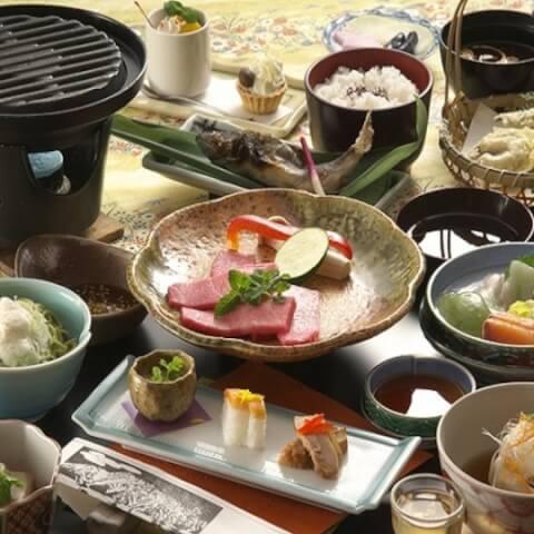 ホテル穂高料理
