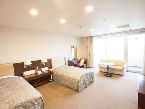 ホテルメルパルク客室