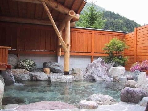 宝山荘露天風呂