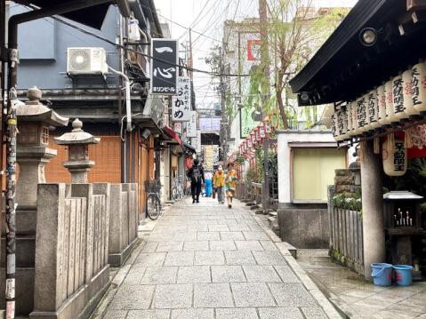 法善寺横丁へのアクセス