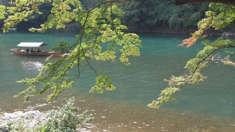 京都 観光 スポット 嵐山 保津峡 遊覧船