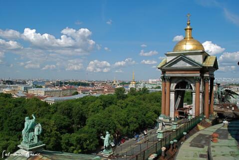 聖イアサク大聖堂 Исаакиевский собор ロシア 観光