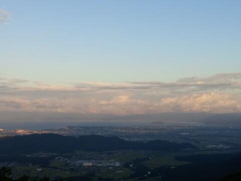 昼の伊吹山からの眺め