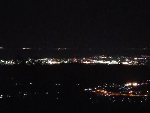 伊吹山からの夜景