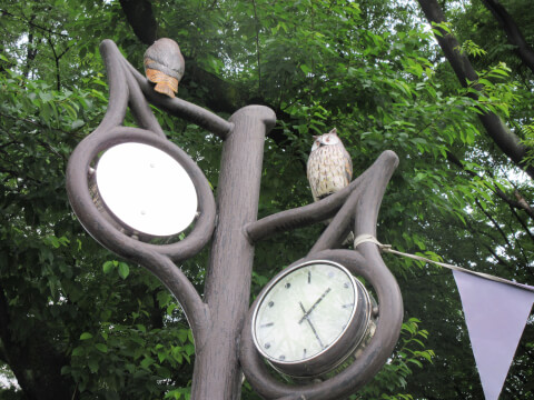 南池袋公園 時計